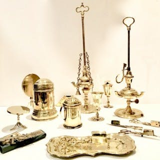 Selection of Antique Brass