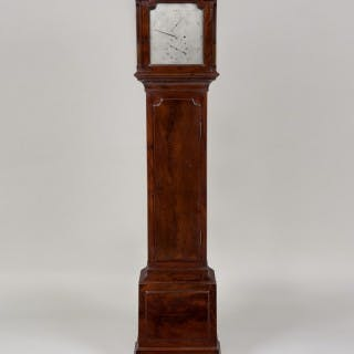 """AUBERT AND KLAFTENBERGER, LONDON. An 18th century 10"""" silver dial"""
