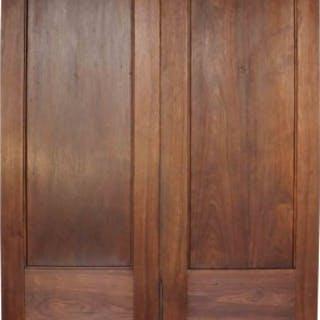 Pair Of Antique Teak Double Doors
