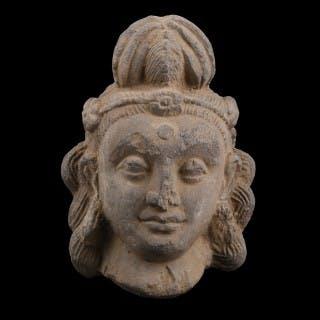 Gandhara Head of a Bodhisattva