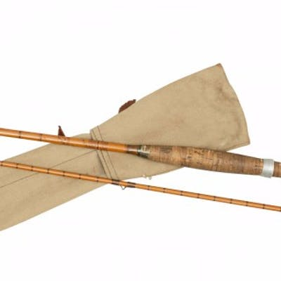 Vintage Hardy Trout Fly Fishing Rod, The 'C.C. de France'.