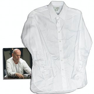 Bruce Willis Screen-Worn Custom Shirt