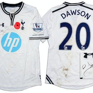Michael Dawson Match-Worn & Signed Shirt From Tottenham Hotspur