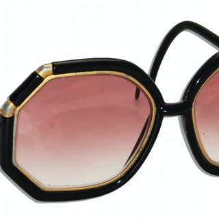 Marlene Dietrich Personally Owned Rx Sunglasses by Iconic French Designer