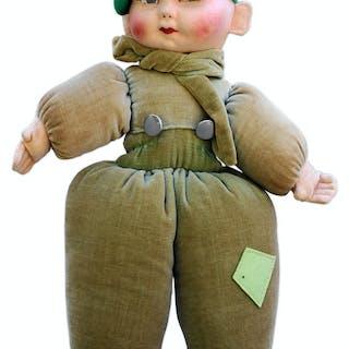 Shirley Temple Owned Puffy Felt Boy Doll