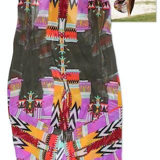 Kourtney Kardashian Owned Silk Beach Dress