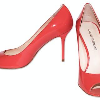 Kim Kardashian Owned Carlo Pazolini Coral High Heels