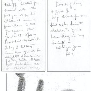 General Dwight Eisenhower 1942 Autograph Letter Signed to His Wife