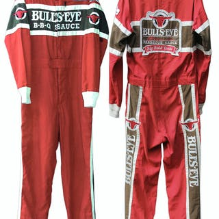 Sterling Marlin Race-Worn Fire Suit -- Back to Back Daytona 500 Champ