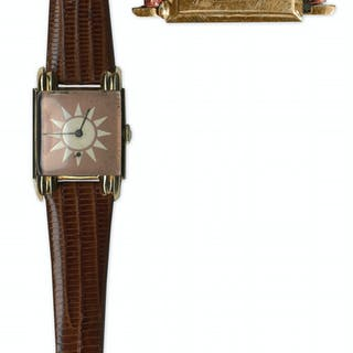 Madame Chiang Kai-Shek Owned 14k Gold Longines Watch -- With Her Engraving