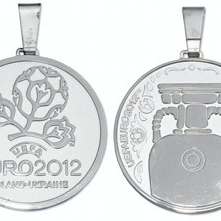UEFA European Championship Silver Medal Won by Italy in 2012