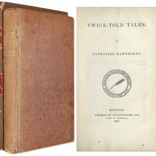 First Edition of Nathaniel Hawthorne's ''Twice-Told Tales'' -- One