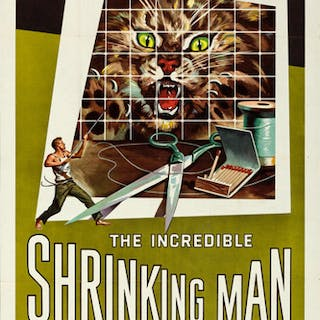One Sheet Poster for ''The Incredible Shrinking Man'' From 1957