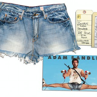 Adam Sandler Worn Costume From The Hit Comedy ''You Don't Mess With the Zohan''
