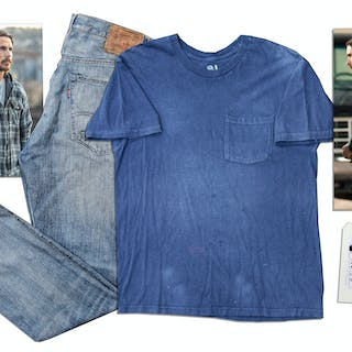 Christian Bale Screen-Worn Costume From the 2013 Film ''Out of the Furnace''