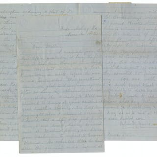 40th Virginia Infantryman Civil War Letter: ''...a spy had just passed