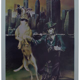 David Bowie ''Diamond Dogs'' Poster From 1974