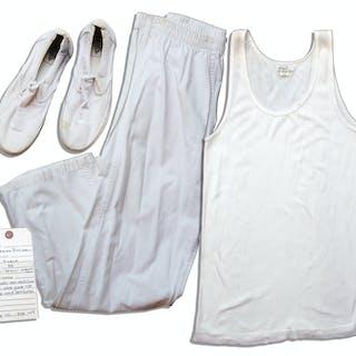 Gerard Butler Screen-Worn Prison Wardrobe From 2009 Futuristic Thriller