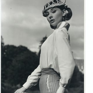 Audrey Hepburn's Personally Owned Photo From ''Love in the Afternoon''