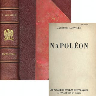 ''Napoleon'' by Jacques Bainville -- 1951 French-Language First Edition