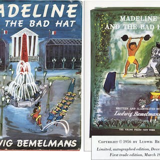 Ludwig Bemelmans' ''Madeline and the Bad Hat'' -- First Edition With
