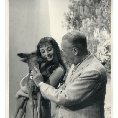Audrey Hepburn Personally Owned 8'' x 10'' Production Still From ''Green