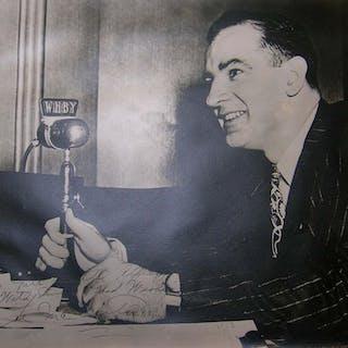 Senator Joseph McCarthy Cold War Photo Signed -- Oversized Photo Measures
