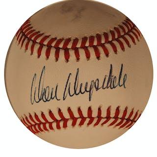 Don Drysdale Baseball Signed
