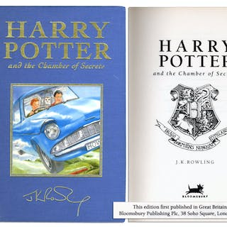 Rare Deluxe First U.K. Edition & First Printing of ''Harry Potter