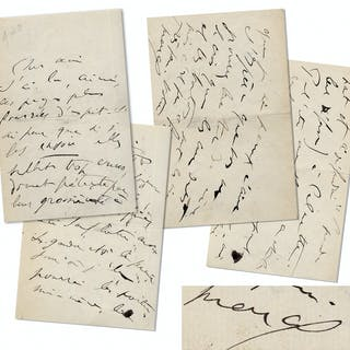 Marcel Proust Autograph Letter Signed From 1910 While Writing ''In