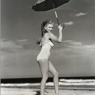 Original 1949 Photograph of Marilyn Monroe Taken by Andre de Dienes