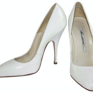 Kim Kardashian Owned Brian Atwood White High Heels
