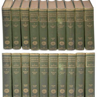 Abraham Lincoln Complete 10 Volume Set of His Definitive Biography