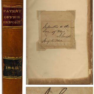 Abraham Lincoln Autograph Endorsement Signed as President -- Housed