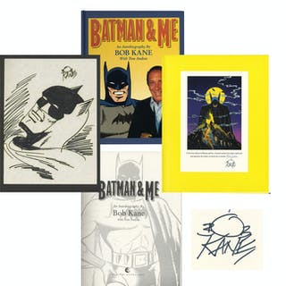 Limited Edition of Bob Kane's ''Batman & Me'' -- Includes Hand-Drawn