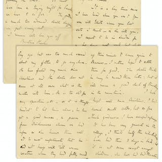 Beatrix Potter Autograph Letter Signed, Regarding the Ill Health of