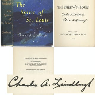 Charles Lindbergh Signed Copy of ''The Spirit of St. Louis'' -- Uninscribed