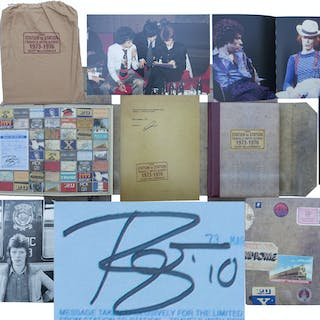 David Bowie Signed Limited Edition of ''From Station to Station Travels