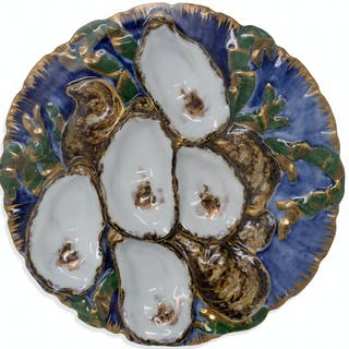 White House Oyster Plate in the Rutherford B. Hayes Style