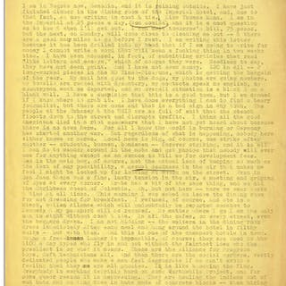 Hunter S. Thompson Letter Signed, and Autograph Note -- ''...Sex is