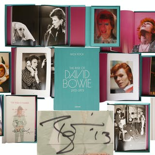 David Bowie Signed Limited Edition of ''The Rise of David Bowie, 1972-1973''