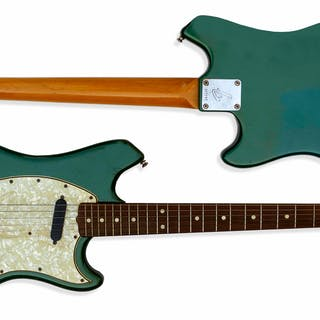 The Who's John Entwistle Personally Owned Fender Swinger Guitar From