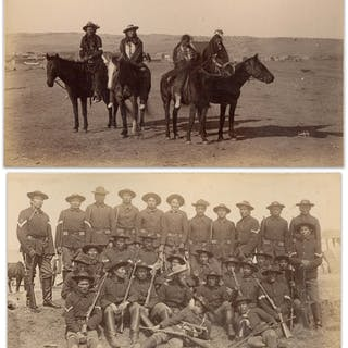 Two Original Photographs From 1891, Shortly After the Wounded Knee