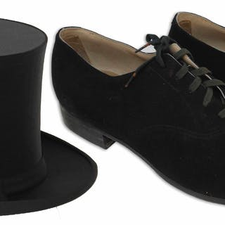 Ray Bolger's Tap Shoes & Top Hat