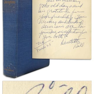 Bill Wilson Signed Second Edition of the ''Big Book'' -- ''...in gratitude