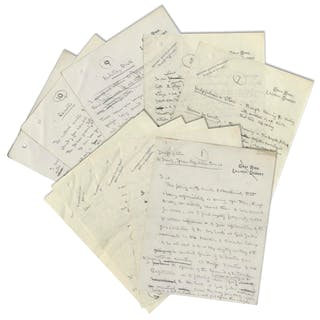 Robert Baden-Powell 12pp. Autograph Draft Letter Regarding the Nascent