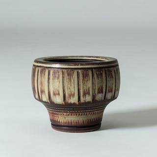 """Farsta Rust"" bowl by Wilhelm Kåge"