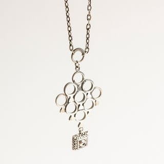 Silver necklace by Pentti Sarpaneva