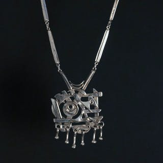Silver necklace from Tre Smeder