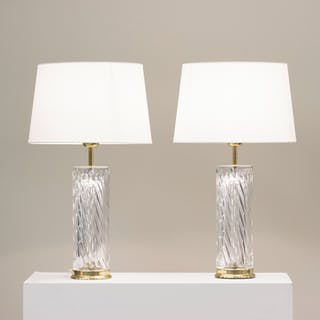 Pair of table lamps by Olle Alberius